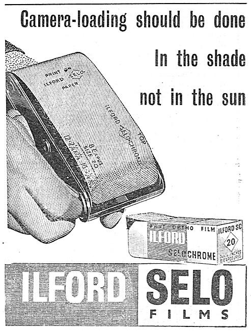 Ilford Photographic Materials -  - Ilford SELO Films