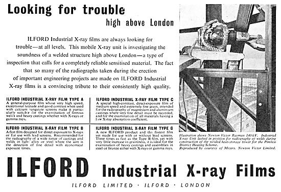 Ilford Industrial X-Ray Films