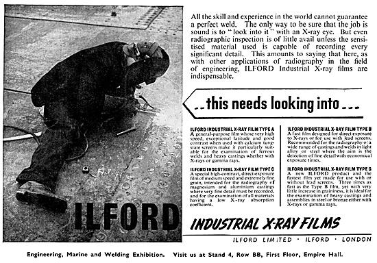 Ilford Ilford Industrial X-Ray Film 1953