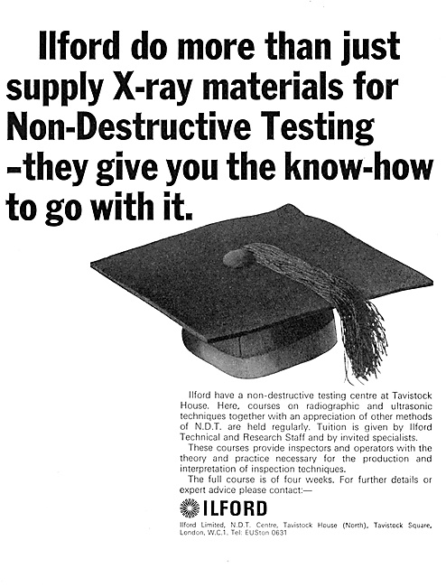 Ilford Photographic Materials - ILFORD NDT X-Ray Materials