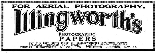 Thomas Illingworth & Co. Photographic Papers & Supplies