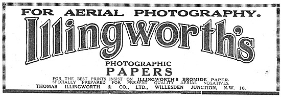 Illingworth Photographic Papers & Supplies