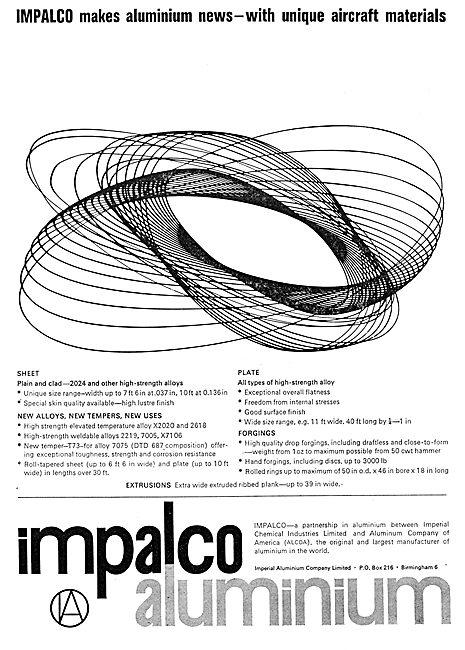 Imperial Aluminium Co. Sheet,Plate & Rolled Aluminium