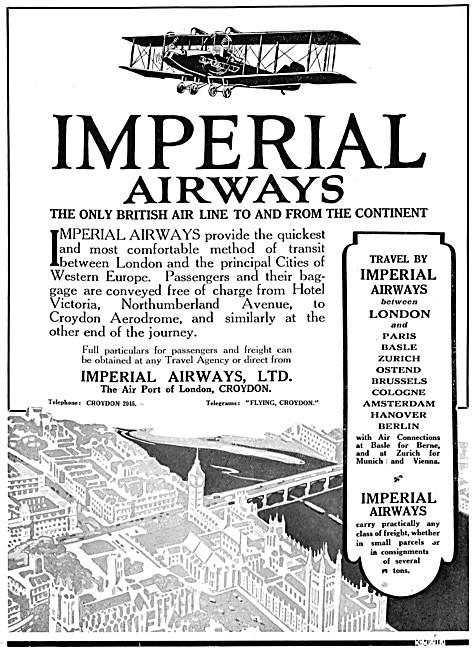 Imperial Airways 1925