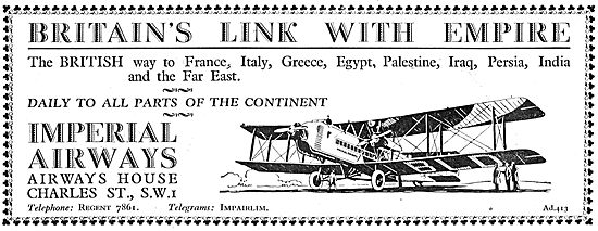 Imperial Airways - Britain's Link With Empire