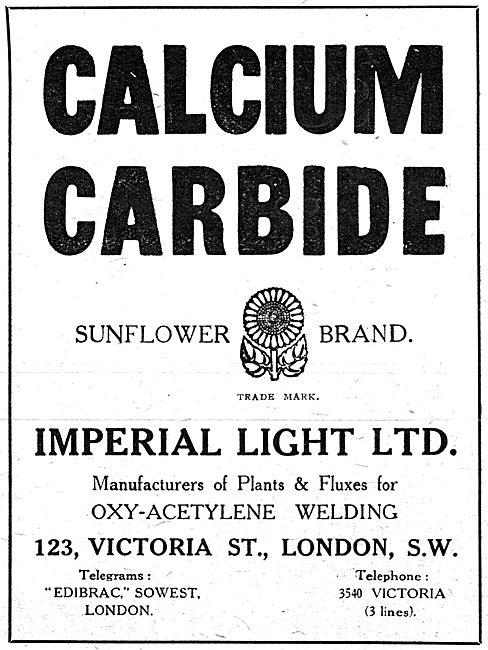 Imperial Light - Sunflower Brand Calcium Carbide