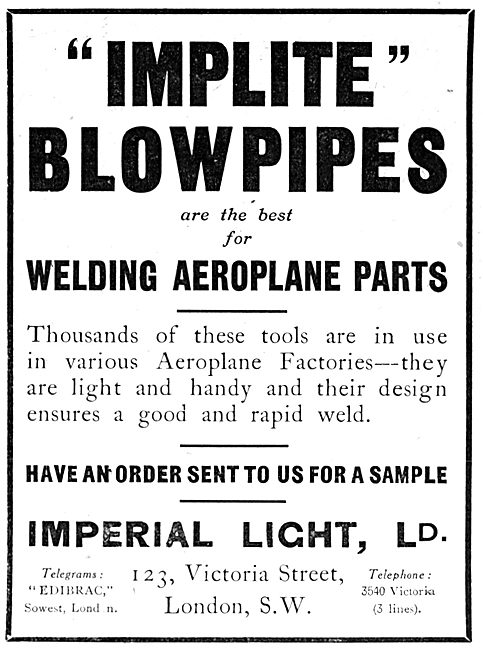 Imperial Light - Implite Blowpipes