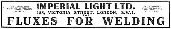 Imperial Light Welding Fluxes 1917