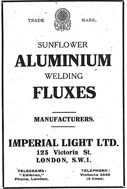 Imperial Light - Sunflower Aluminium Welding Fluxes