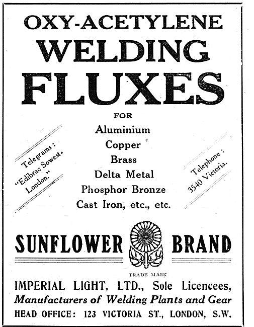 Imperial Light - Sunflower Brand Oxy-Acetylene Welding Fluxes