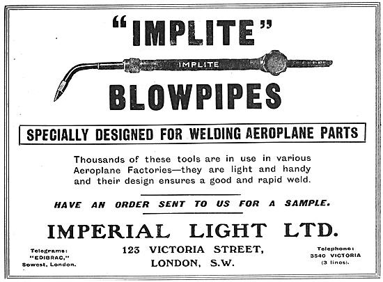 Imperial Light -Welding Equipment