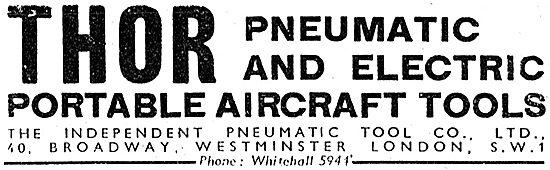 Independent Pneumatic. Thor Pneumatic & Electric Aircraft Tools
