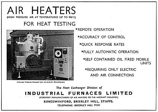 Industrial Furnaces. Air Heaters, Furnaces & Heat Exchangers