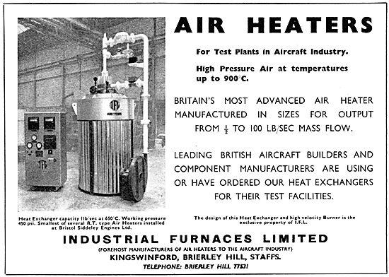 Industrial Furnaces.Air Heaters