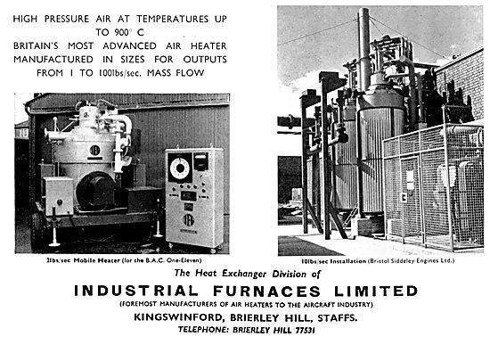 Industrial Furnaces. Air Heaters