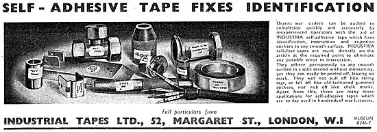 Industrial Tapes - Self  Adhesive Identification Tapes 1943