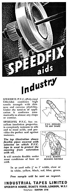 Industrial Tapes : Speedfix PVC Tape