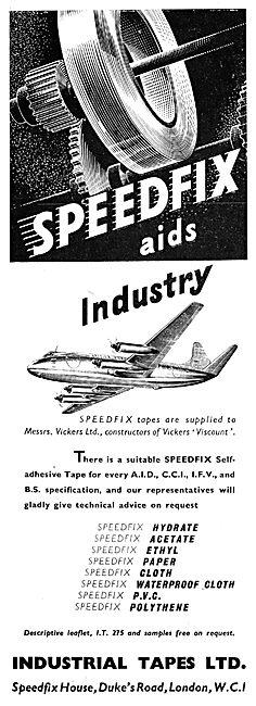 Industrial Tapes : Speedfix Self Adhesive Tapes