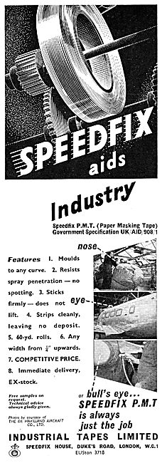 Industrial Tapes : Speedfix Papare Masking Tape