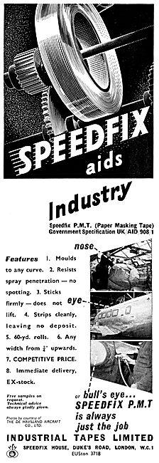 Industrial Tapes - Speedfix Masking Tape