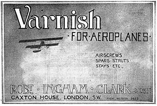Ingham Clark Varnish 1916