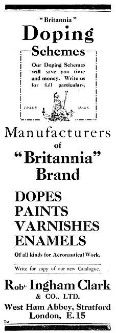 Ingham Clark Britannia Brand Aircraft Doping Schemes