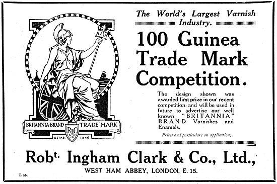 Ingham Clark Britannia Brand Aircraft Paints & Varnishes