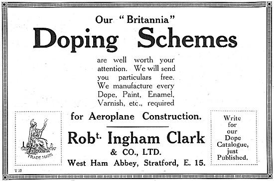Ingham Clark Britannia Doping Schemes