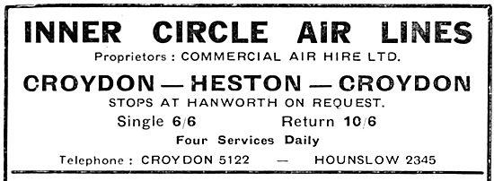 Inner Circle Air Lines : Croydon - Heston