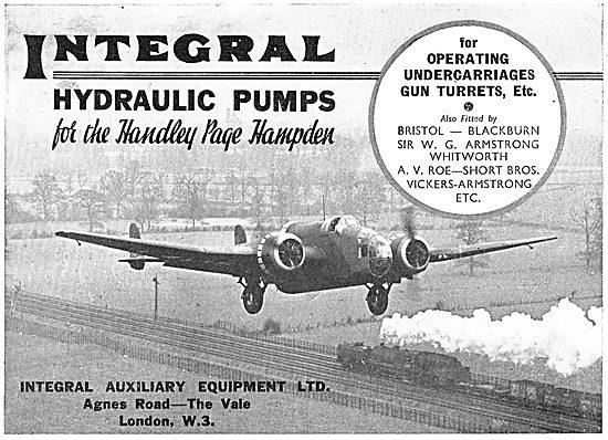 Integral Aircraft Hydraulic Pumps