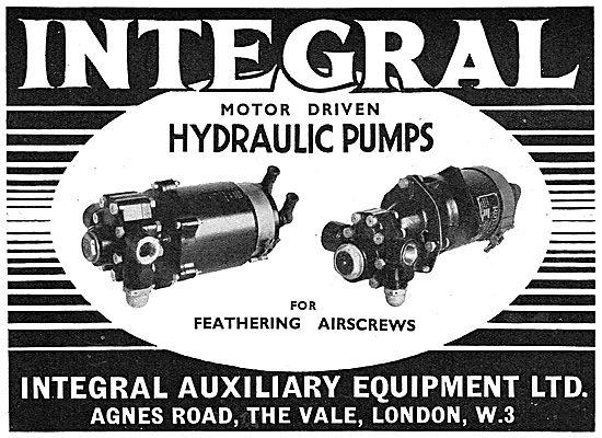 Integral Motor Driven Hydraulic Pumps
