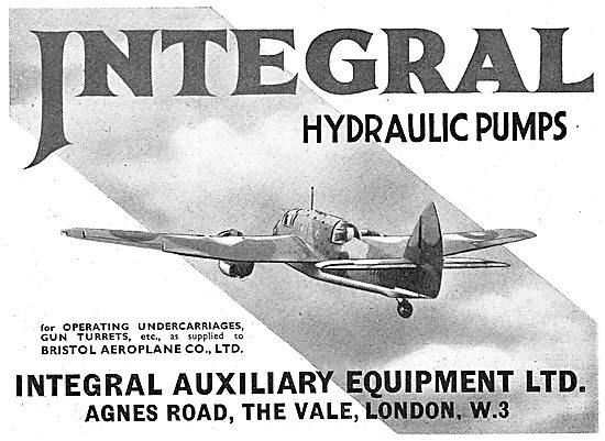Integral Hydraulic Pumps For Undercarriages & Gun Turrets
