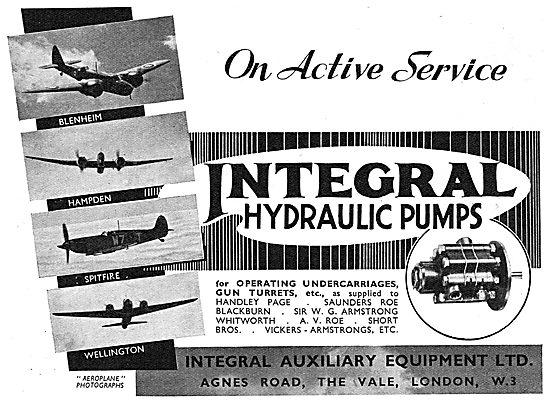 Integral Hydraulic Pumps