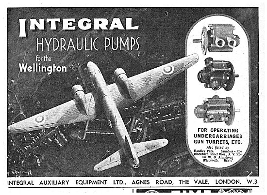 Integral Hydraulic Pumps For The Wellington