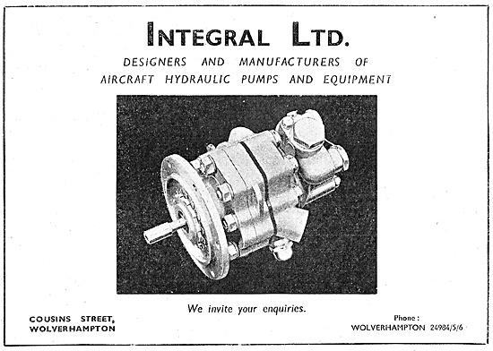 Integral Hydraulic Pumps & Motors