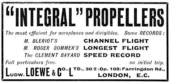 Ludwig Loewe & Co Integral Propellers