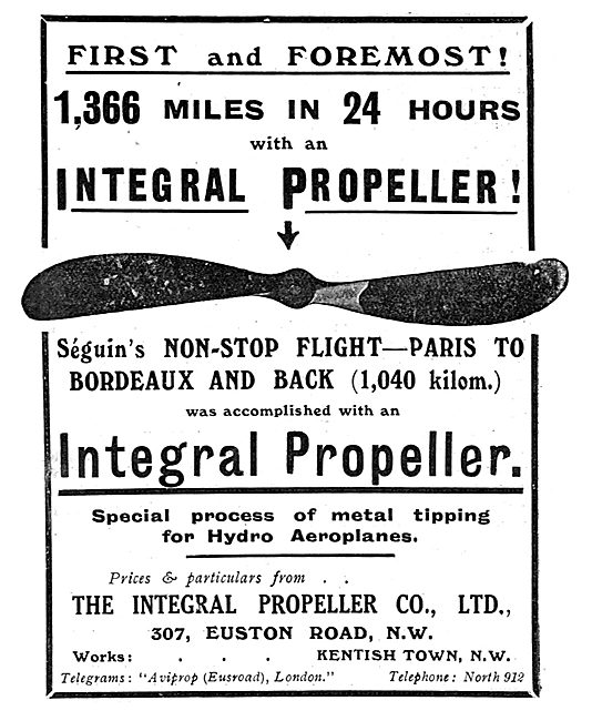 1,336 Miles In 24 Hours With An Integral Propeller