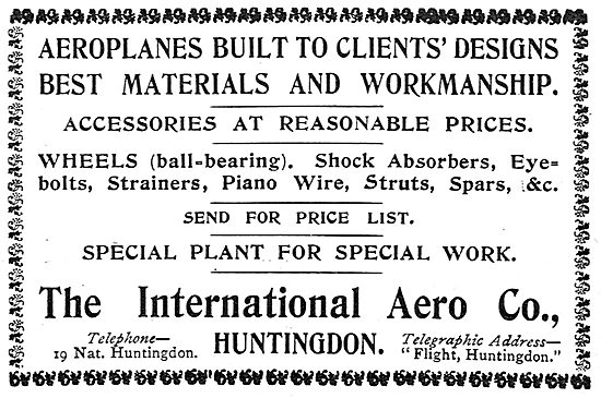 International Aero Co Huntingdon