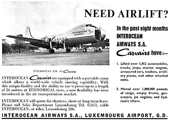 Interocean Airways - Luxembourg