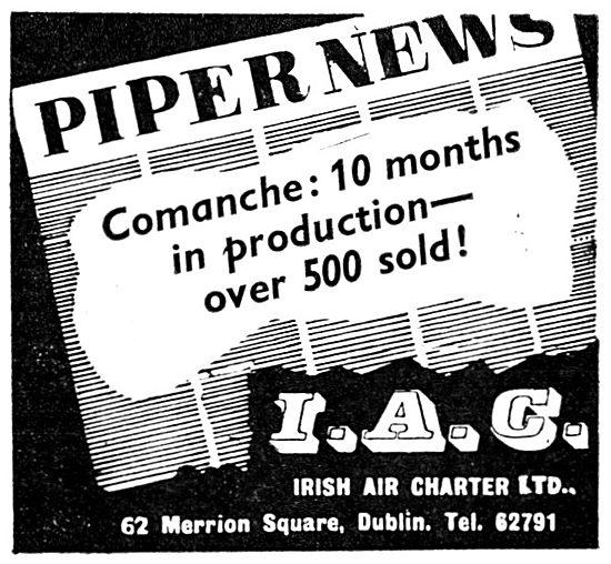 Irish Air Charter - Piper Comanche
