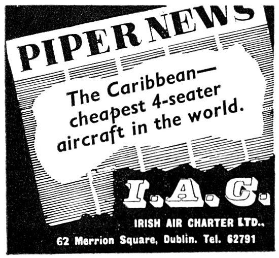 Irish Air Charter - Piper Caribbean