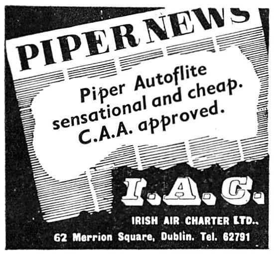 Irish Air Charter - Piper Autoflite
