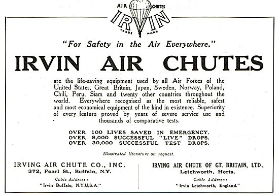 Irving Air Chutes - Over 8,000 Live Drops.