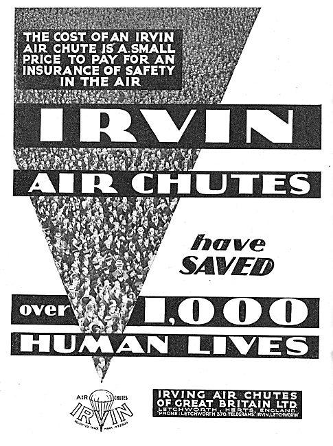 Irvin Air Chute Parachutes Have Saved 1,000 Lives