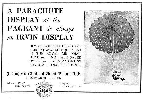 Irvin Parachutes