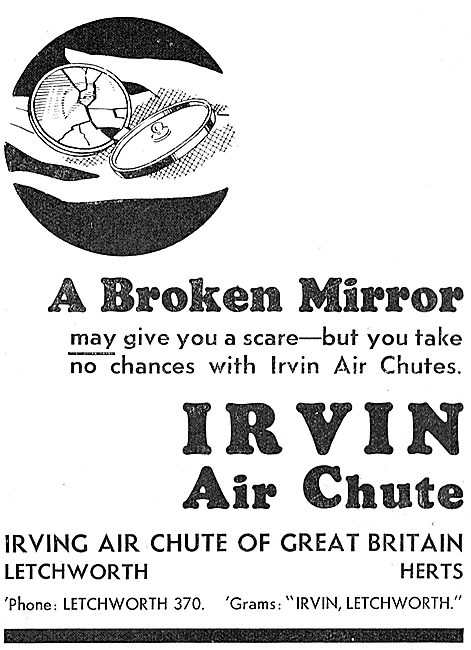Irvin Air Chute: Superstitions Series: Broken Mirror