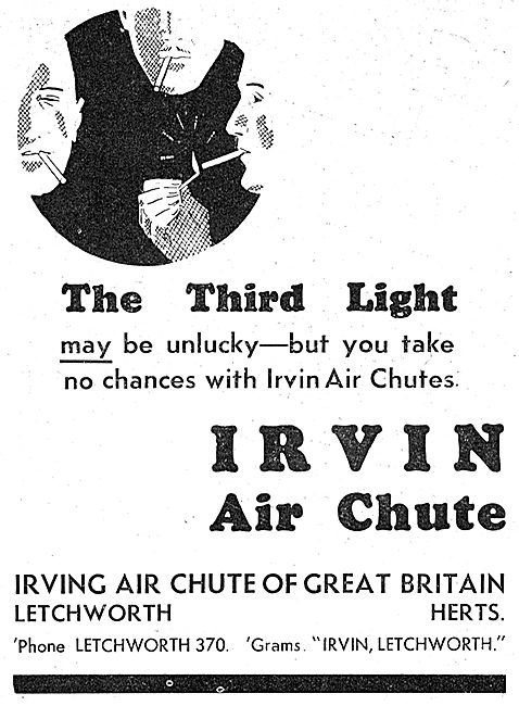 Irvin Air Chute: Superstitions Series: The Third Light