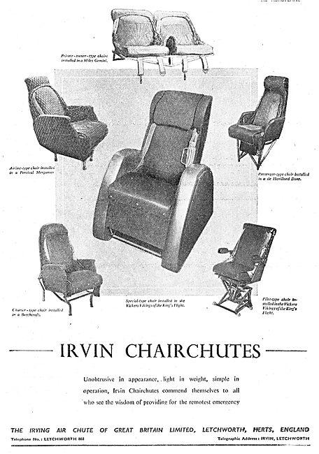 Irving Air Chute - Chairchutes