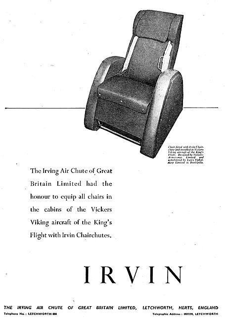 Irving Air Chute - Kings Flight Chairchutes