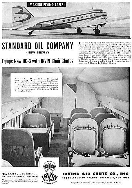 Irvin Chair Parachutes - Irvin Chair Chutes